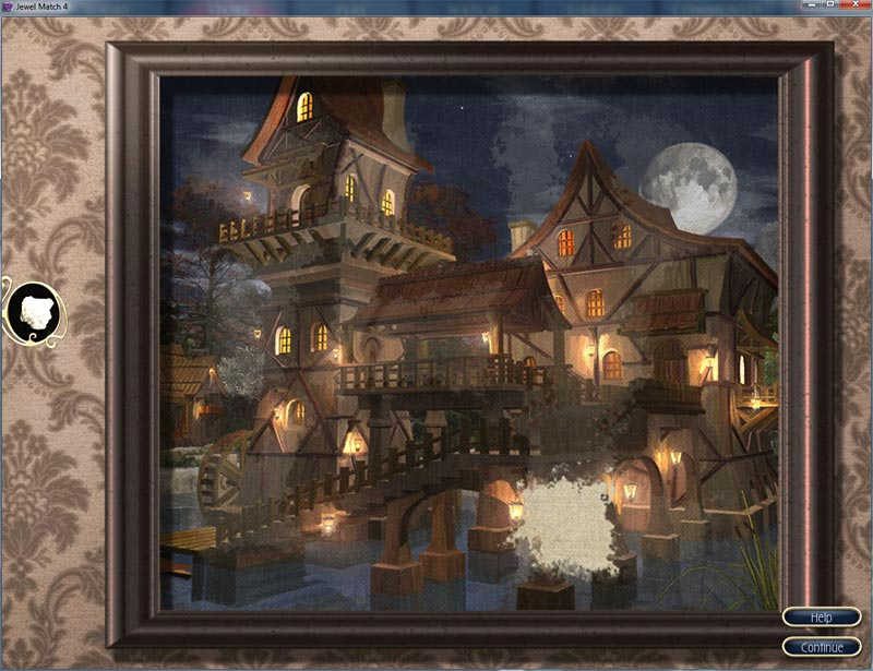JM4 watermill night jigsaw